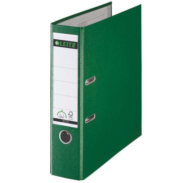 Registratore con meccanismo a leva 180° Leitz in plastica Colore Verde ES_10105055 by Leitz