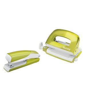 Set mini cucitrice e perforatore in metallo Leitz WOW NeXXt Series Colore Verde metallizzato ES_55612064 by Leitz