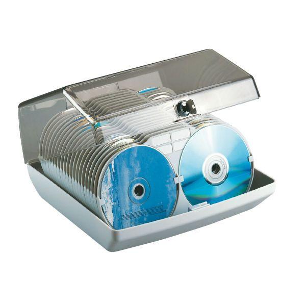 CD Box Colore Grigio chiaro ES_90955 by Esselte