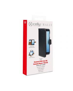 Wally case p40 lite5g - nova 7se5g bk Celly WALLY917 8021735760238 WALLY917
