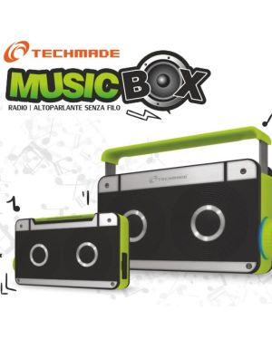 Techmade speaker bluetooth 5watt Prodotti Bulk JWH-C2 8099990012331 JWH-C2