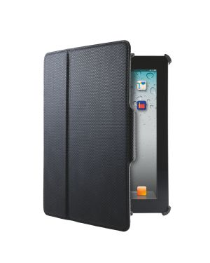 Custodia con cover Smart Grip Leitz Complete per Nuovo iPad/iPad 2 Colore Nero ES_63890095