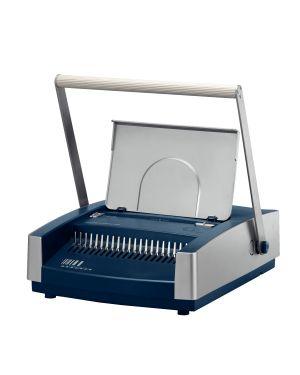 Rilegatrice Comb comBIND 500 Leitz Colore Argento/Blu ES_73020000 by Leitz