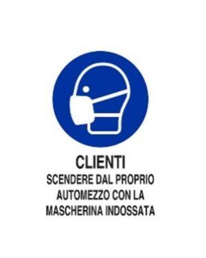 Clienti scendere automezzo c - mas Mascherine M0160050ALB0500X0350 8024814501975 M0160050ALB0500X0350