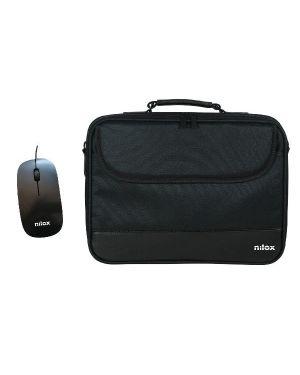Notebag 15.6 pro + mouse usb Nilox NXMOS5156BK 8436556143977 NXMOS5156BK