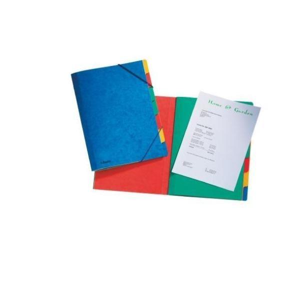 Rainbow cartella cartoncino 5diviso Esselte 55550 5411313555500