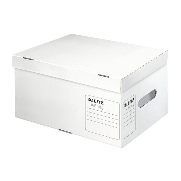 Scatola archivio e trasporto Leitz Infinity, Small Colore Bianco ES_61050000 by Leitz