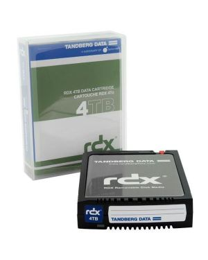 Rdx cartuccia 4 tb cartrdige Tandberg 8824-RDX 7050779088245 8824-RDX