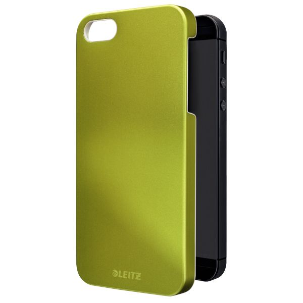 Custodia metallizzata Leitz WOW per iPhone 5/5S Colore Verde metallizzato ES_63720064 by Leitz