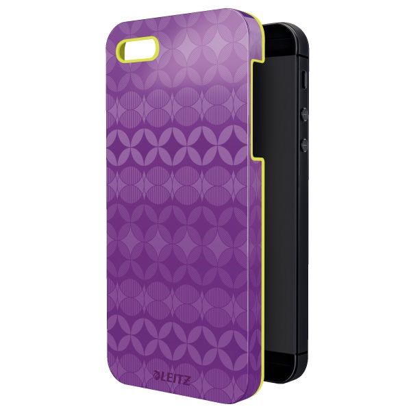 Custodia Leitz Retro Chic per iPhone 5/5S Colore Viola ES_63730065 by Leitz