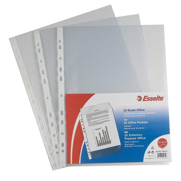 Buste a perforazione Copy Safe De Luxe Colore Trasparente