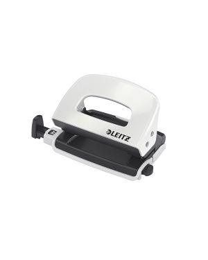 Mini perforatore in metallo Leitz WOW NeXXt Series Colore Bianco metallizzato ES_50602001