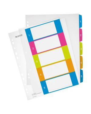 Rubrica stampabile Leitz WOW, PP, formato A4 maxi Colore Multicolore ES_12410000