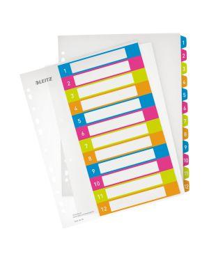 Rubrica stampabile Leitz WOW, PP, formato A4 maxi Colore Multicolore ES_12440000
