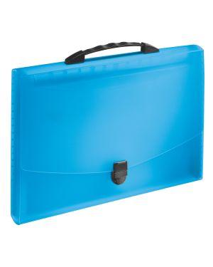Concertina Esselte VIVIDA con maniglia, traslucida Colore Blu VIVIDA ES_624022