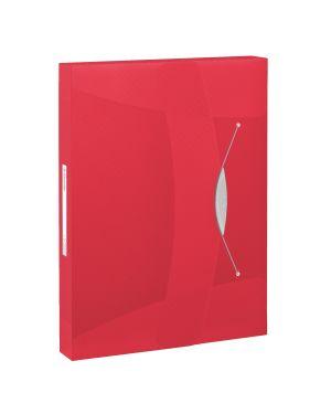 Cartella progetti Esselte VIVIDA, traslucida Colore Rosso VIVIDA ES_624048