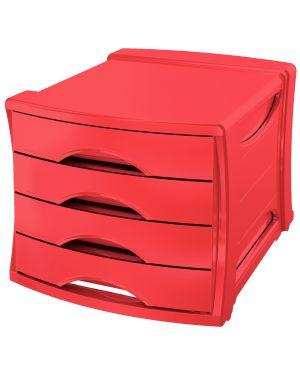 Cassettiera Europost Esselte VIVIDA, standard Colore Rosso VIVIDA ES_623960