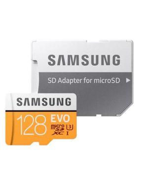 Micro sd evo 128gb xc uhs-i Samsung MB-MP128HA/EU 8806090168321 MB-MP128HA/EU by Samsung