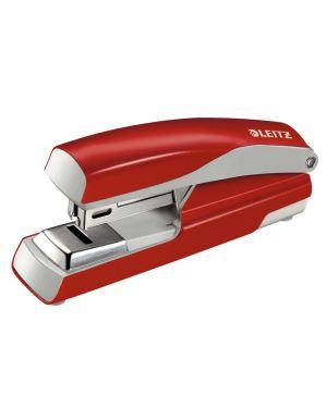 Cucitrice da ufficio Leitz in metallo flat clinch NeXXt Series Colore Rosso ES_55050025