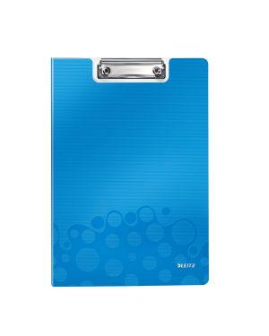 Portablocco con copertina Leitz WOW Colore Blu metallizzato ES_41990036 by Leitz