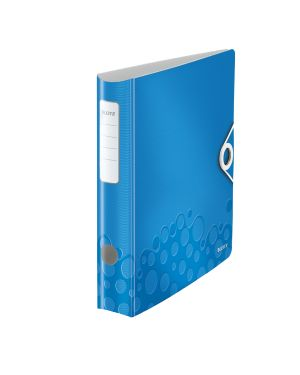 Registratore con meccanismo a leva 180° Leitz Active WOW Colore Blu metallizzato ES_11070036 by Leitz