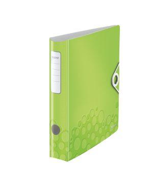 Registratore con meccanismo a leva 180° Leitz Active WOW Colore Verde metallizzato ES_11070064 by Leitz