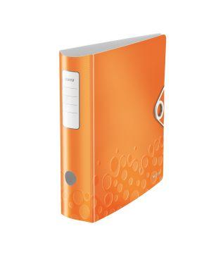 Registratore con meccanismo a leva 180° Leitz Active WOW Colore Arancione metallizzato ES_11060044 by Leitz
