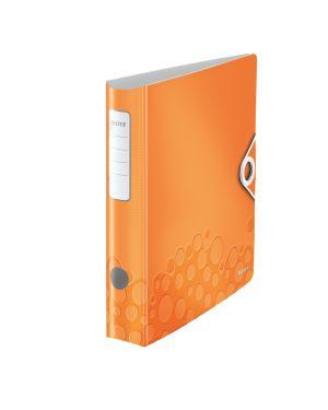 Registratore con meccanismo a leva 180° Leitz Active WOW Colore Arancione metallizzato ES_11070044 by Leitz
