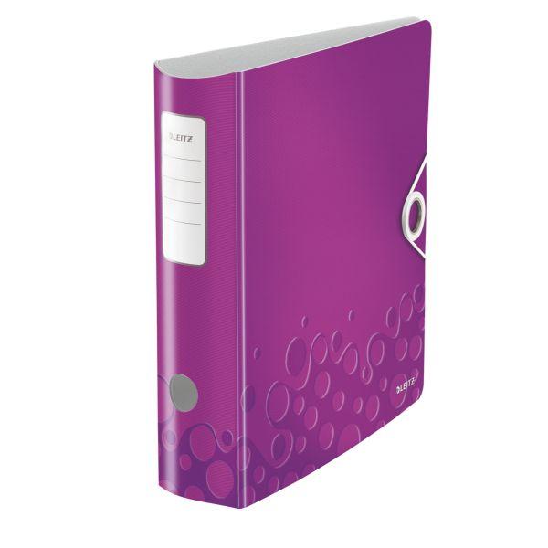 Registratore con meccanismo a leva 180° Leitz Active WOW Colore Viola ES_11060062 by Leitz