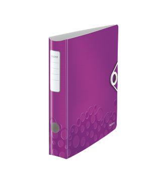 Registratore con meccanismo a leva 180° Leitz Active WOW Colore Viola ES_11070062 by Leitz