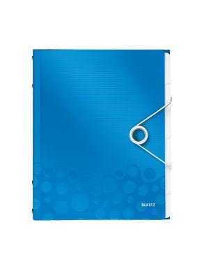 Libro monitore Leitz WOW Colore Blu metallizzato ES_46330036