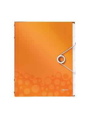 Libro monitore Leitz WOW Colore Arancione metallizzato ES_46330044