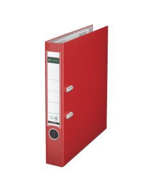 Registratore con meccanismo a leva 180° Leitz in plastica Colore Rosso ES_10155025