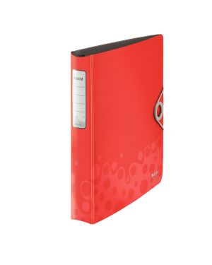 Raccoglitore ad anelli SoftClick Leitz Bebop Active Colore Rosso ES_42360025