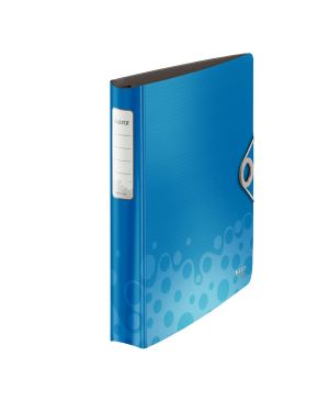 Raccoglitore ad anelli SoftClick Leitz Bebop Active Colore Blu ES_42360037