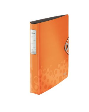 Raccoglitore ad anelli SoftClick Leitz Bebop Active Colore Arancione ES_42360045