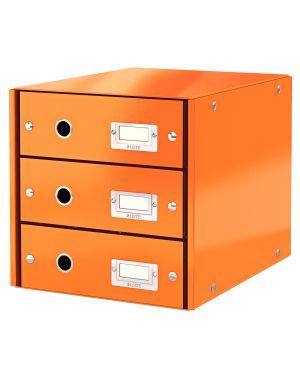 Cassettiera Leitz Click & Store Colore Arancione ES_60480044 by Leitz