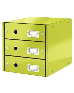 Cassettiera Leitz Click & Store Colore Verde ES_60480064 by Leitz