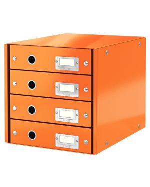 Cassettiera Leitz Click & Store Colore Arancione ES_60490044 by Leitz