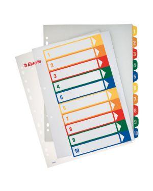 Rubrica stampabile al PC, polipropilene, A4 extra wide Esselte Colore Multicolore ES_100213 by No