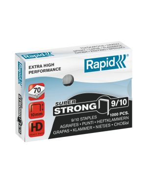Punti 9/10 Rapid SuperStrong Colore Bianco ES_24871100 by Rapid