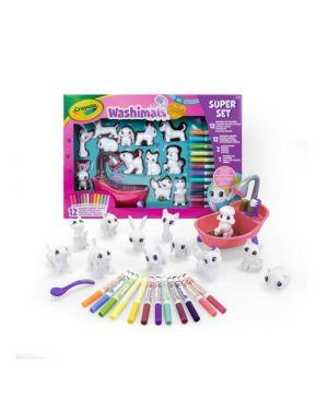 Washimals set attività cucciolini Crayola 74-7321 71662173210 74-7321
