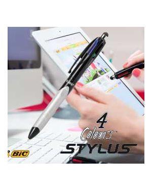 Penna sfera scatto 4colors grip stylus bic® 926404_73400