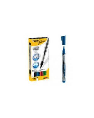 Marcatori p.tonda whiteboard velleda® liquid ink pocket bic® blu 902087 3086123304642 902087_73403 by Bic