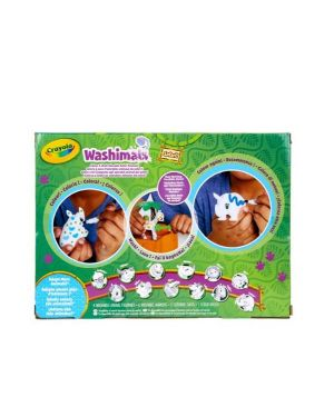 Washimals safari set attivit Crayola 74-7328 71662073282 74-7328