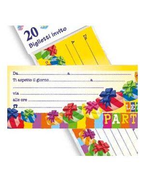 Blocchetto 20 inviti alla festa pegaso PB927_74203