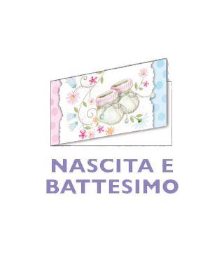 200 bigliettini bomboniera personalizzabili (10fg a4) battesimo micart BF011_74226