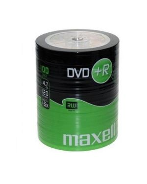 100 dvd+r 16x shrink termoretratto Maxell 275737 4902580504991 275737