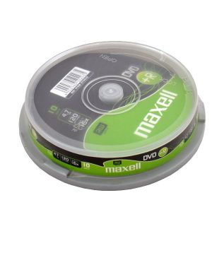10pz.dvd+r 4.7gb 16x spindle Maxell 275632 4902580502935 275632