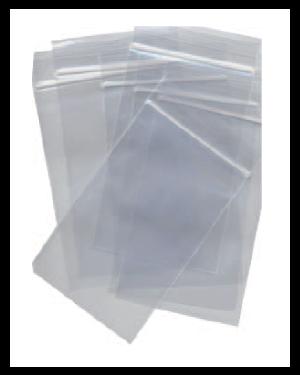 100 sacchetti zip 4x6cm plastica 45mic. zip4x6_73142